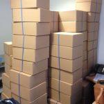 Empty Archive boxes